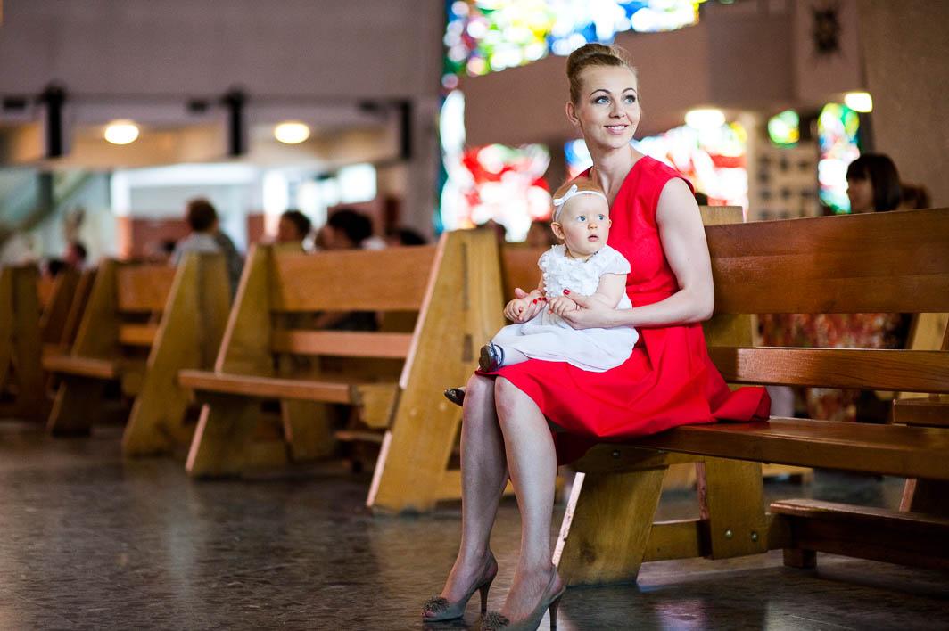 Reportaż z chrztu świętego w Warszawie